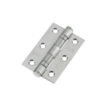 "3"" Ball Bearing Hinges. Satin Chrome"